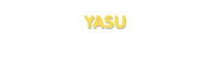 Der Vorname Yasu