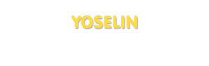 Der Vorname Yoselin