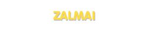 Der Vorname Zalmai