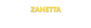 Der Vorname Zanetta