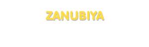 Der Vorname Zanubiya