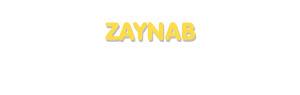 Der Vorname Zaynab