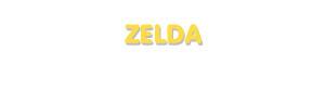 Der Vorname Zelda