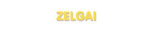 Der Vorname Zelgai