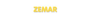 Der Vorname Zemar