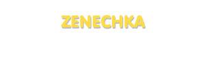 Der Vorname Zenechka