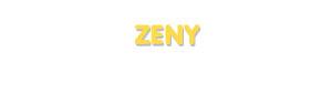 Der Vorname Zeny