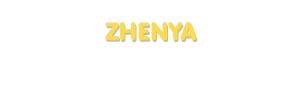 Der Vorname Zhenya