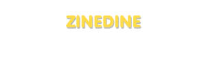 Der Vorname Zinedine