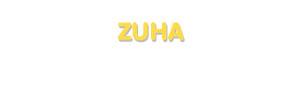 Der Vorname Zuha