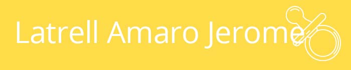 Latrell Amaro Jerome