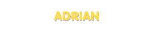 Der Vorname Adrian