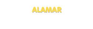 Der Vorname Alamar