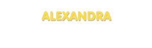 Der Vorname Alexandra