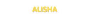 Der Vorname Alisha