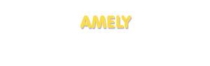Der Vorname Amely