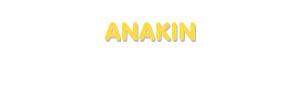 Der Vorname Anakin