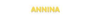 Der Vorname Annina