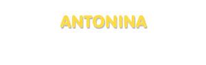 Der Vorname Antonina