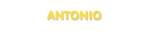 Der Vorname Antonio