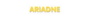 Der Vorname Ariadne