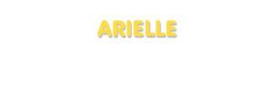Der Vorname Arielle
