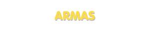 Der Vorname Armas