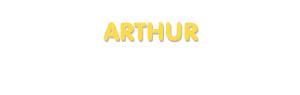 Der Vorname Arthur