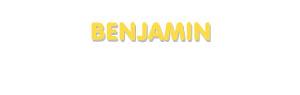 Der Vorname Benjamin