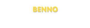 Der Vorname Benno