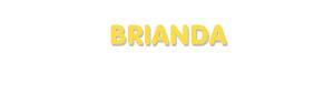 Der Vorname Brianda