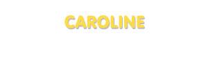 Der Vorname Caroline
