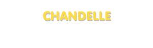 Der Vorname Chandelle