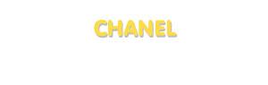 Der Vorname Chanel