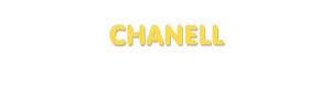 Der Vorname Chanell