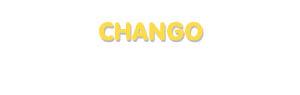 Der Vorname Chango