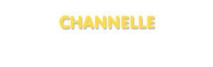 Der Vorname Channelle