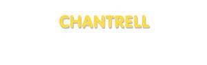 Der Vorname Chantrell