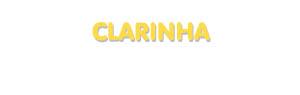 Der Vorname Clarinha