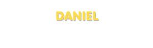 Der Vorname Daniel