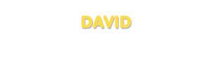 Der Vorname David