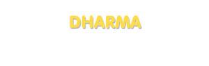 Der Vorname Dharma