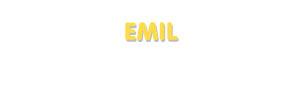 Der Vorname Emil