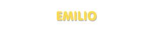Der Vorname Emilio