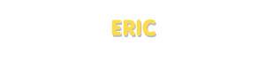 Der Vorname Eric