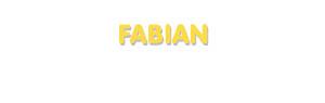Der Vorname Fabian