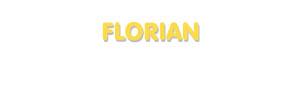 Der Vorname Florian