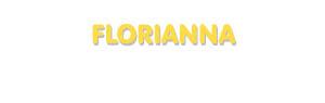 Der Vorname Florianna