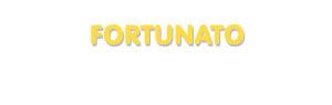 Der Vorname Fortunato