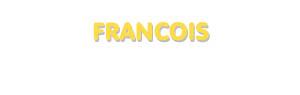 Der Vorname Francois